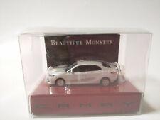 TOYOTA CAMRY Light Keychain Platinum white pearl PullBack Mini Car JAPAN