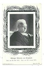 ROYALTY - QUEEN VICTORIA (1819-1901) Undivided Back MARCUS (Berlin) Postcard