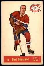 1957-58 PARKHURST BERT OLMSTEAD MONTREAL CANADIENS #19 (03) JM