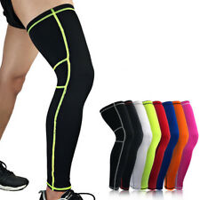 Compression Knee Leg Thigh Support Sleeve Bandage Wrap Brace Injury Arthritis 22