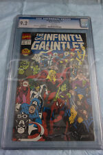 INFINITY GAUNTLET 3 CGC GRADED 9.2 WHITE PAGES THANOS AVENGERS