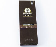Scharffen Berger - 99% Unsweetened Dark Baking Chocolate 9.7 oz Bar