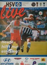 Programm UEFA Intertoto 1997 Hamburger SV - Samsunspor