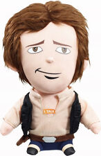 """STAR WARS YOUNG HAN-SOLO TALKING 8"""" PLUSH BRAND DISNEY THE FORCE AWAKENS"""