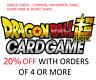 Dragon Ball Super Cards - PROMOS - Dash Pack Promos Singles BT7 PR TCG