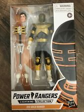 Power Rangers Lightning Collection ZEO GOLD RANGER Mighty Morphin IN HAND Black