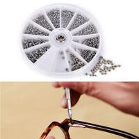 600x assortiment vis de fixation pour lunettes de montre réparation horloge FMfw