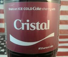 Share A Coke Cherry With Cristal 2017 Limited Edition Coca Cola Bottle