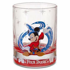 disney parks one world four parks mickey sorcerer shot glass new