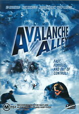 Avalanche Alley - Action / Extreme Sport / Snowboarding - Ed Marinaro - NEW DVD