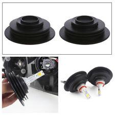 1 Pair Universal Headlight Dust Cover Cap Array For LED HID Xenon Halogen Bulb