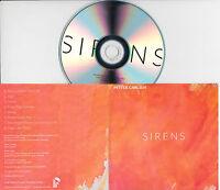PETTER CARLSEN Sirens UK 8-trk promo test CD Function