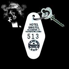 FIGHT CLUB Marla Singer HOTEL BRISTOL movie PROP KEY TAG Tyler Durden Brad Pitt