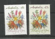 AUSTRALIA 1990 GREETINGS STAMPS SG,1230-1231 U/MM NH LOT 8568A