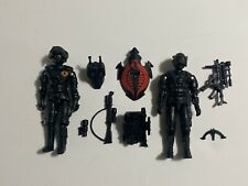 Gi Joe Black Major Cobra Assassin Snake Eyes Hunter Night Viper And Alley Viper
