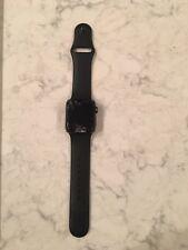 Apple Watch Series 2 38mm Aluminum Case Black Sport Band - (MP0D2LL/A)