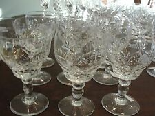 ROYAL BRIERLEY ELIZABETH 10 WINE GLASSES 4 3/4""
