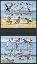 More details for kiribati birds on stamps 2008 mnh bird definitives terns gulls ducks 12v on 2 ms