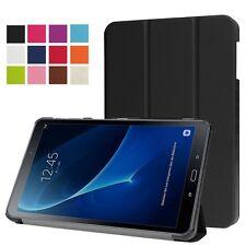 SmartCover Nero per Samsung Galaxy Tab a 10.1 t580 t585 Guscio Case Borsa Nuovo