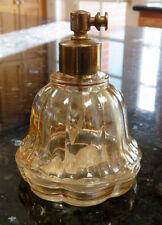 Xpray Light Marigold Iridized Carnival Glass Perfume Bottle