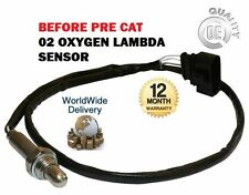 FOR AUDI A3 A4 A6 1.6 1.8 2.0 1996->ON FRONT PRE CAT 02 OXYGEN LAMBDA SENSOR
