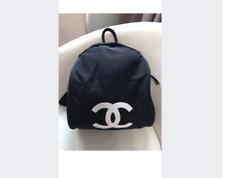 Chanel Logo Backpack