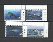 R0205 2020 NIUAFO'OU WHALES & DOLPHINS OF THE WORLD MARINE LIFE FAUNA SET MNH