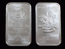 1 oz Silver Bar - .999 silver * Don't Tread on Me / Price of Freedom * (S-402)