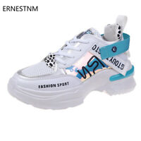 ERNESTNM 2019 Woman White Sneakers Hand Painted Casual Pink Ladies Vulcanized