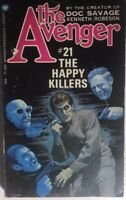 THE AVENGER #21 The Happy Killers by Kenneth Robeson (1974) Warner pb