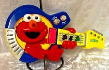 2002 Sesame Street Jam with Elmo Guitar, Fisher Price Lights & Tempo           L