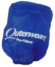 """New 3"""" x 4"""" Outerwears Blue Pre-Filter Air Cleaner Go Kart Racing Cart Parts"""