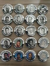 More details for set of 20 x 38mm heavyweight boxing legends pin boxer badges boxing pinbacks a2