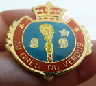 PIN'S VILLE VILLAGE BLASON ECUSSON COURONNE ARMOIRIES AU GRES DU VERDUS