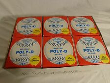 Lot of 6 Blue Diamond Slow Pitch Softballs D100-Bsc Msp-48 Poly-D ~New In Box~