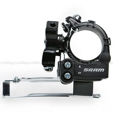 SRAM X4 Bike Front Derailleur 7/8 Speed Low Clamp 31.8/34.9mm Black