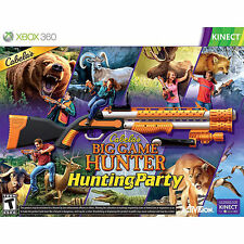 Cabela's Big Game Hunter Hunting Party For Xbox 360 - Top Shot Sport Kinect