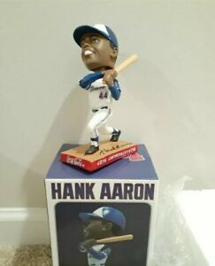 Braves x Coca Cola Hank Aaron Home Run Bobblehead - New in Box