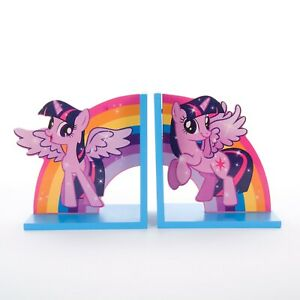 My Little Pony Twilight Sparkle wooden bookend VGC