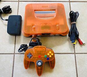Daiei Hawks Clear Orange Nintendo 64 N64 Console REGION FREE *AUTHENTIC*