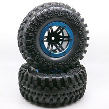 "4PCS 2.2"" Inflatable Tires W/ Alloy Beadlock Wheels 1/10 RC Crawler CAR 3022BU"
