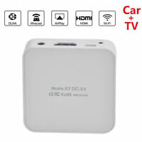 Auto HD Multimedia Display WiFi Spiegel Link Box Adapter Airplay für Android iOS