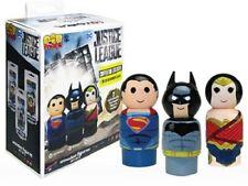Justice League PIN Mate en bois Figure Set of 3-Convention Exclusive