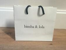 Used - BIMBA & LOLA - bolsa de papel - Paper bag - 16 x 14 x 6 cm