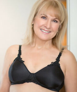 ABC Petite T-Shirt Non Underwired Mastectomy Bra Black 105