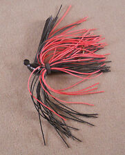 Bass, Fishing Lure/ DR Custom Flipping Jig 3/8 oz.  (Living Rubber Skirt)