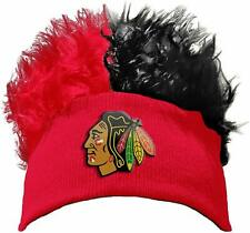 The Northwest Company NHL Adult Chicago Blackhawks Flair Hair Beanie