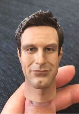Custom 1/6 Scale Aaron Eckhart Head Sculpt for 12 Inch Figures Body  Hot Toys