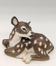 Royal Copenhagen Baby Deer Fawn Figurine 2609