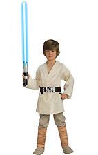 Luke Skywalker Jedi Deluxe Child Costume Boys Star Wars Tunic Halloween